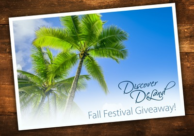 Win Big at the Fall Festival of the Arts!